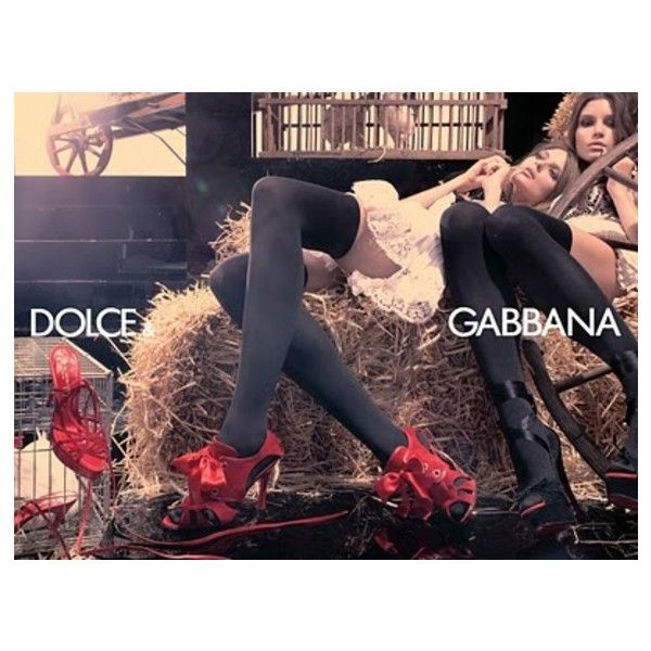 Dolce & Gabbana Ad Campaign Spring/Summer 2006 Shot #2 ❤ liked on Polyvore featuring ad campaign tear sheet and steven meisel