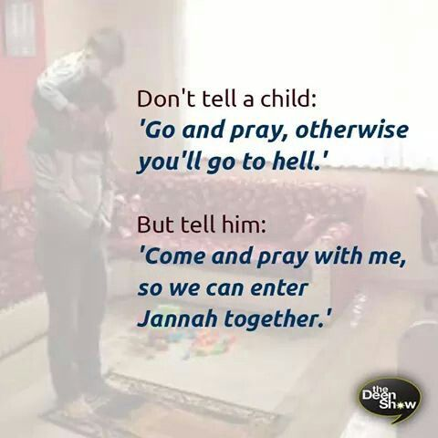 This is how I want to raise my children :')) ♡ اللهم ارزقنا الذرية الصالحة