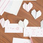 Origami Heart Love Notes – How To Make An Origami Heart