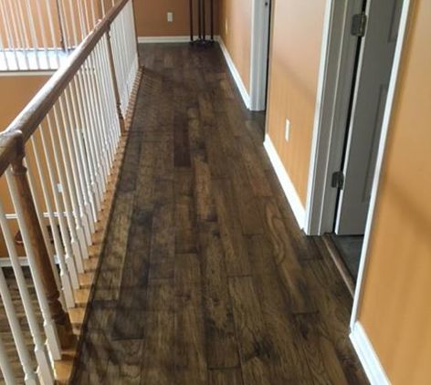 Mannington Handscraped Hickory Hardwood Flooring Gives