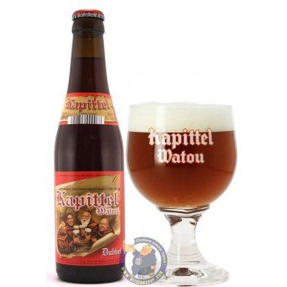 Brouwerij Van Eecke - Het Kapittel Watou Dubbel (Abbay dubbel) 7,5% pullo