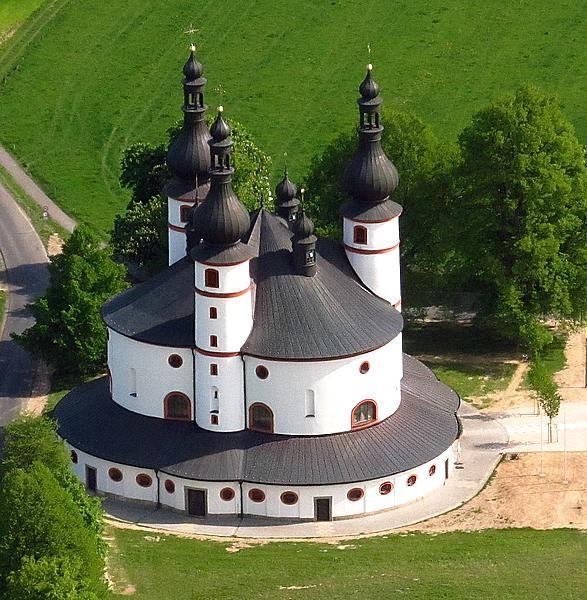 Waldsassen Kappl Wallfahrtskirche  Oberpfalz