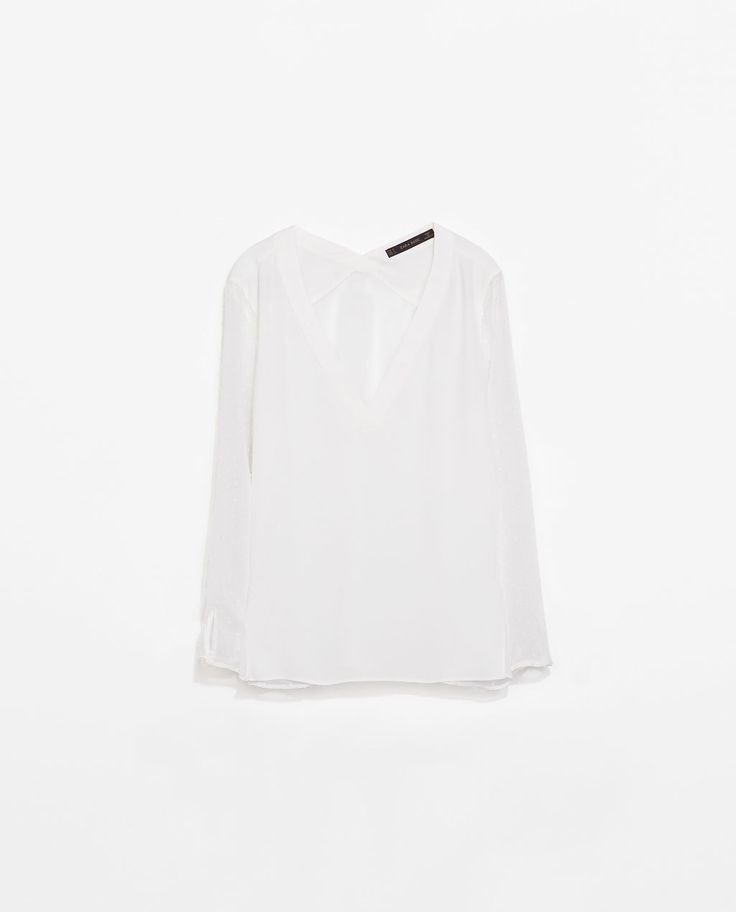 Image 7 of COMBINATION BLOUSE from Zara