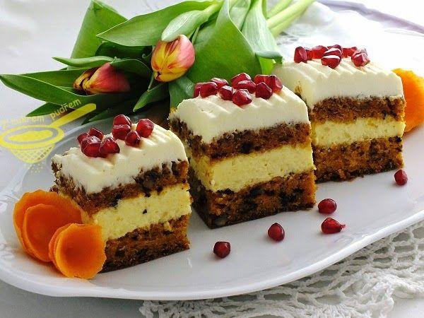 """z cukrem pudrem: """"Wypasione"""" ciasto marchewkowe"""