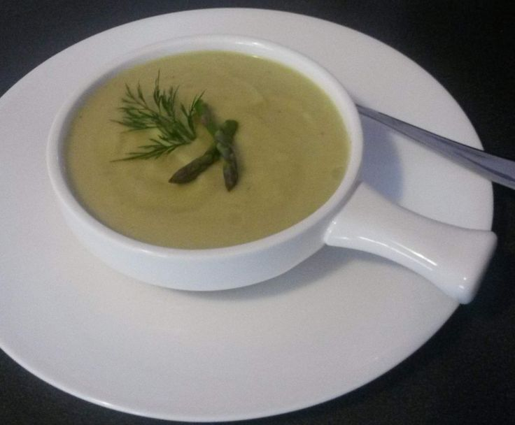 Recipe Creamy Asparagus & Cauliflower Soup by DeniseT - Recipe of category Soups