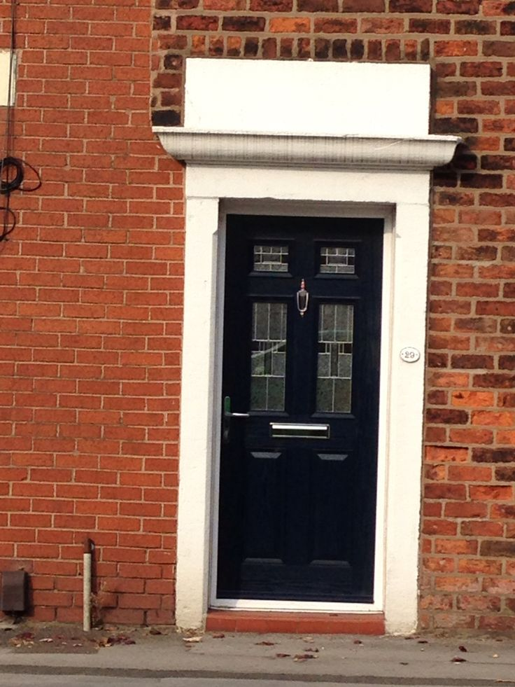 Spotted this door style when driving through lostock hall