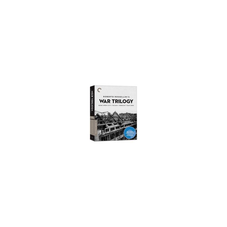Roberto Rossellini's War Trilogy (Blu-ray)