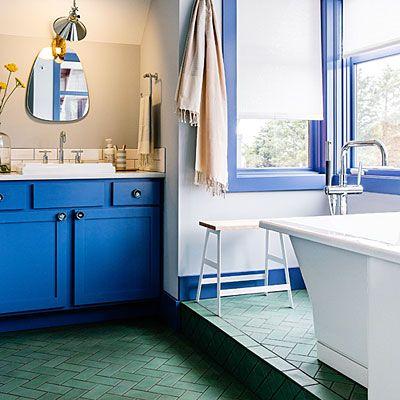 27 inventive room design ideas tile flooring concrete for Innovative flooring ideas
