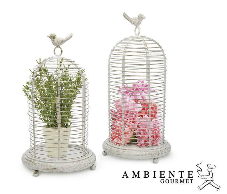 las jaulas le dan encanto a espacios interiores y exteriores pon en ellas plantas