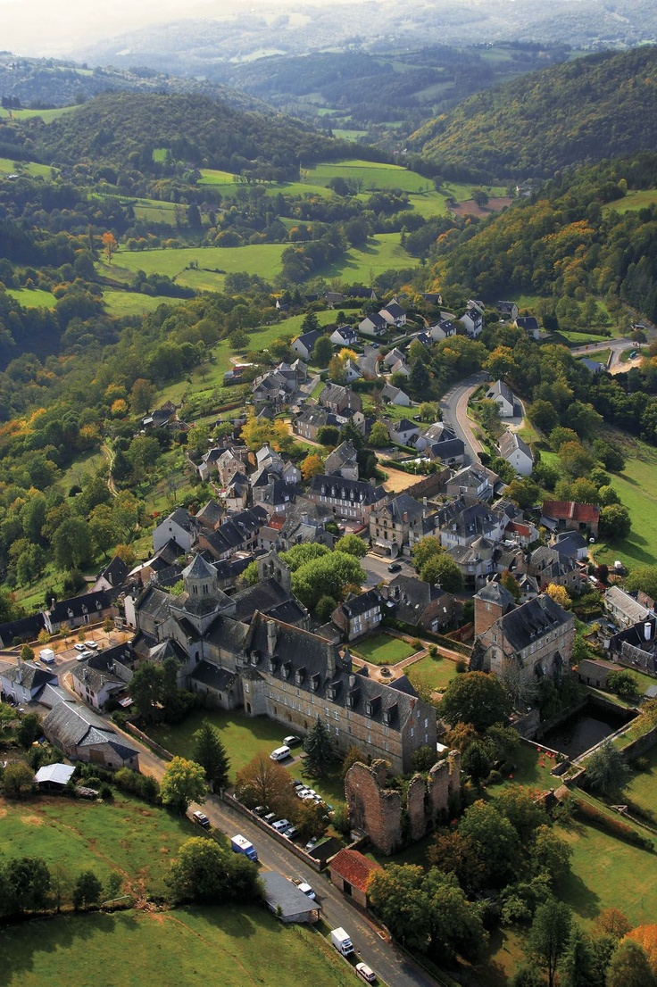 La vallée de Correze, Limousin