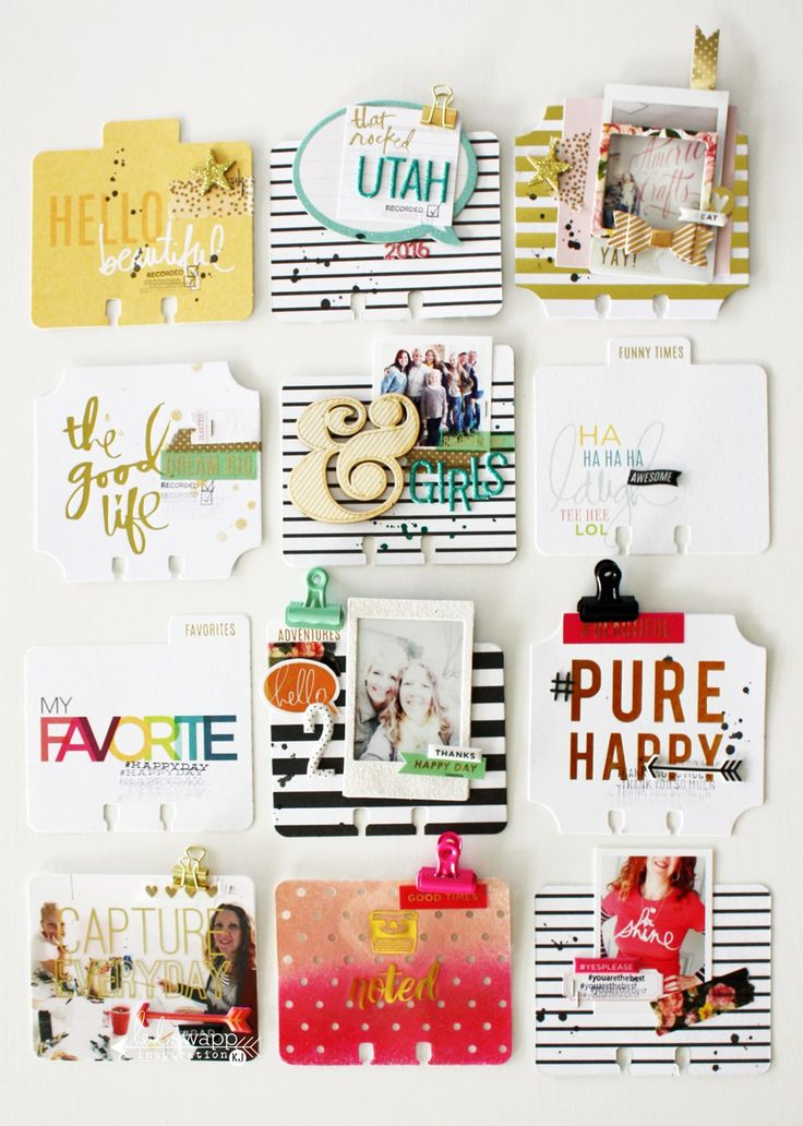 Heidi Swapp MemoryDex tips and tricks by @kimjeffress for @heidiswapp