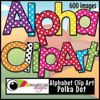 polka dot letters clip alphabet and polka dots on 24021 | 057f3eabbdb9c082a30a7f72382f0ffb