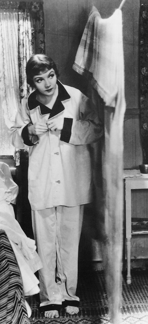 Claudette Colbert in 'It Happened One Night' --  Costume Designer: Robert Kalloch
