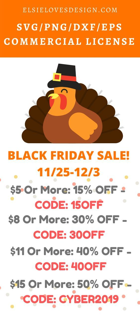 BLACK FRIDAY SALE! | Unique items products, Christmas svg ...