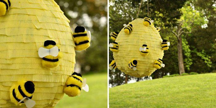 Maak je eigen piñata voor een honingzoet eerste communiefeest! #communion #piñata #animation