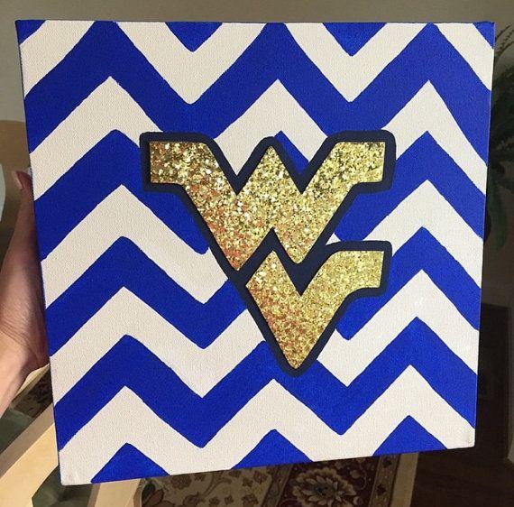 West Virginia university Customizable College Pride / College Dorm by Custom410Creations