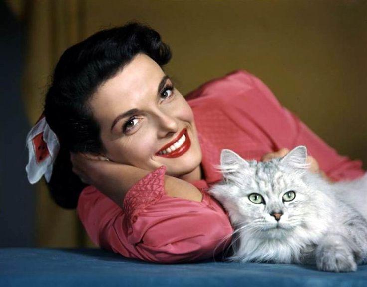 Кошки и красавицы.  Джейн Рассел