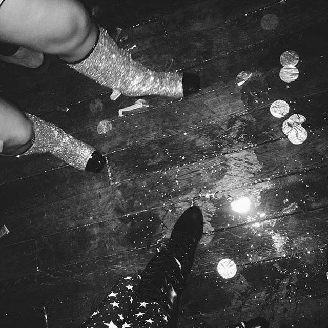 prom gone wrong  / #alexachung #promgonewrong #classof2017 [Wearing Chanel 2017 Glitter boots].