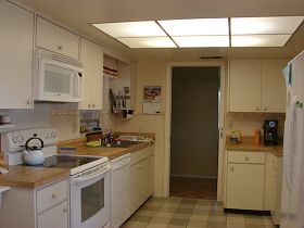 Refinish Kitchen Cabinets - How to refinish wood,  paint laminate cabinets, lots of ideas for cabinet makeovers!