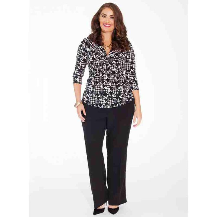 PRE-ORDER - Rosa Plus Size Top in Noir Estate $100.00 http://www.curvyclothing.com.au/index.php?route=product/product&path=95_96&product_id=8539