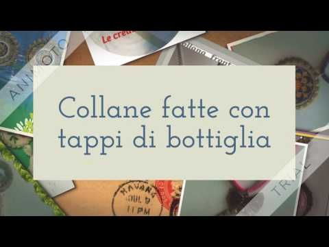Nino Capizzi Creazioni ( Collane, Ciondoli, Bijoux ): collane fatti con tappi di bottiglia 7 €  cad. + s...