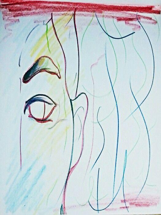 무대를 앞둔 인물의 표정을 보고 어딘지 비장함과 긴장감이 감도는 것이 느껴져 이를 제스쳐로 표현해보려고 했다. 심리적 제스처라는 것이 있을까? 라고 생각해보며 실험적인 느낌으로 진행하였다. 인상깊은 다른 장면을 더 발견한다면 좀 더 진행해보고 싶다