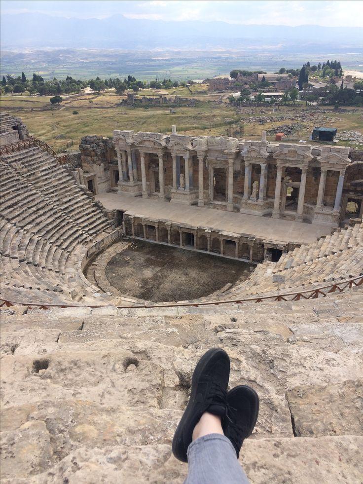 Denizli Pamukkale Antik Tiyatro