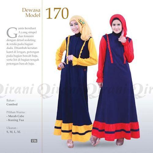 Jual beli Baju Qirani Gamis Model Q-170 di Lapak Aprilia Wati - agenbajumuslim. Menjual Dress - Qirani Gamis Model Q170  Kode : Q170  Ready size :  s,m,l,xl  Q170  Harga  Rp 260.000,- Gamis Bahan Combed  Warna:  Kuning Tua Merah Cabe  Size: S,M,L,XL  HARGA SETIAP SIZE BEDA, SEBELUM CLOSING Mohon dipastikan size apa yang diperlukan.  Untuk mengetahui ketersediaan Stok, CHAT ME ya....  HAPPY SHOPPING