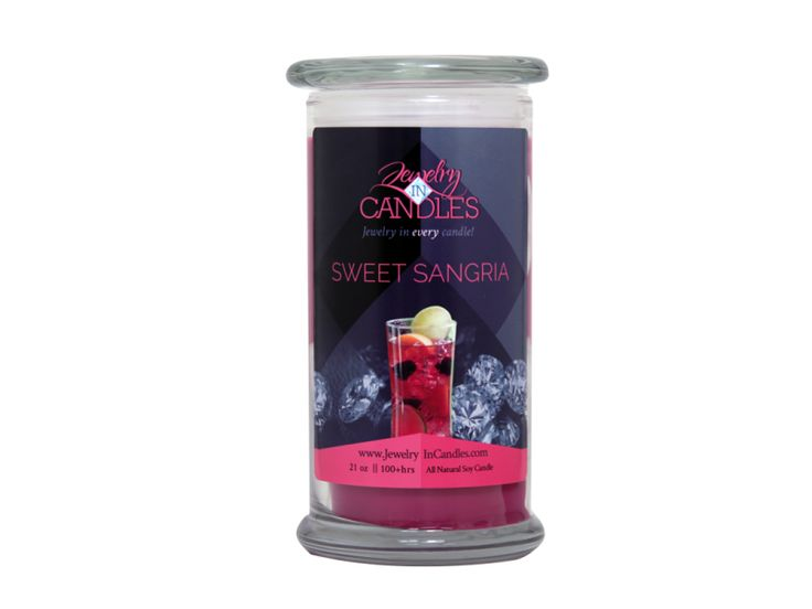 Sangria can be made lots of ways and always seems to taste incredible…Ours is made just like our favorite sangria - starting with juicy cherries and some grapefruit, lots of sweet red wine poured on top, and a hint of orange as a garnish! - See more at: https://www.jewelryincandles.com/store/sarasjic/p/183:c:113/seasonals/sweet-sangria-candle/#sthash.ArosgH5W.dpuf