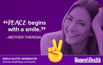 Here's Your Inspirational Quote from Mother Theresa  http://www.womenshealthmag.com/life/mother-theresa-quote