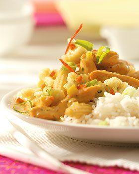 Recept voor Indiase curry met bloemkool en kip | Solo Open Kitchen