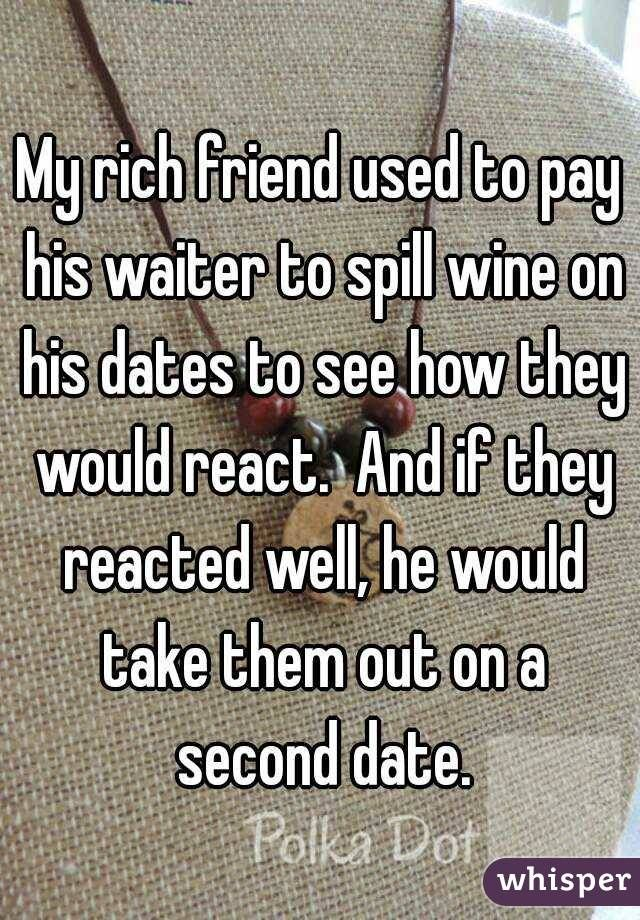 Whisper App. Confessions on interactions between customers and waiters.