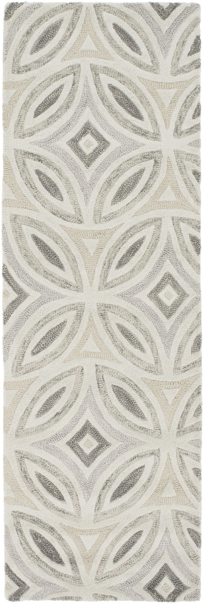 Surya PSV46 Perspective Neutral Runner Area Rug