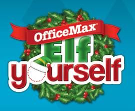 Office Max FREE Elf-Yourself Calendar - http://www.dealiciousmom.com/office-max-free-elfyourself-calendar/