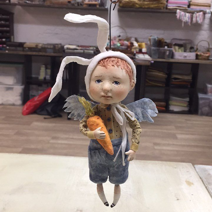 1,074 отметок «Нравится», 60 комментариев — Степанова Лариса (@stepanida_spb) в Instagram: «Мой зайка, мой маленький ангелочек! Первый ангел в моей творческой деятельности! Лене…»
