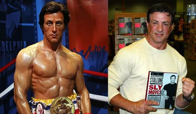Sylvester Stallone (Hollywood Wax Museum, Los Angeles, 2003)