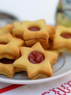 Piparkukas - Biscoito amanteigado com recheio de goiaba