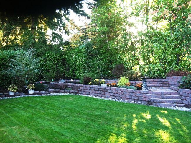 Hillside Landscape Ideas With Pool | Seattle Landscaping   Retaining Walls    Wall Blocks U0026 Stone