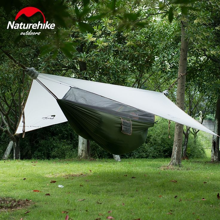 119.90$  Buy now - http://alihr2.worldwells.pw/go.php?t=32749432624 - Naturehike Ultralight Hanging Tent Outdoor Hammock with Bed Net  Sleeping Tent Camping Bed 1 Person Only 1.5kg 2 Color
