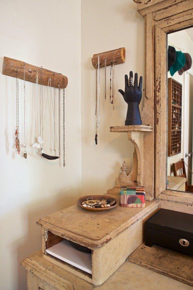 DIY déco // porte-bijoux