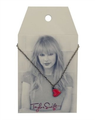 Taylor Swift Red Heart Necklace : Jewelry Line