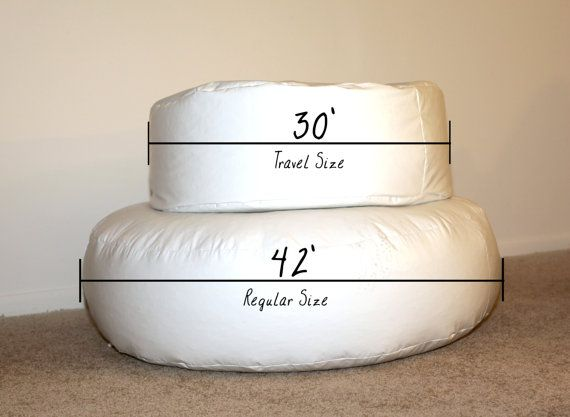 Travel size posing beanbag for newborn photography this poser beanbag is great