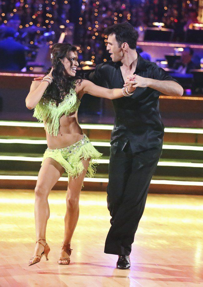 Dancing With The Stars Season 15 Fall 2012 Melissa Rycroft and Tony Dovolani Instant Samba