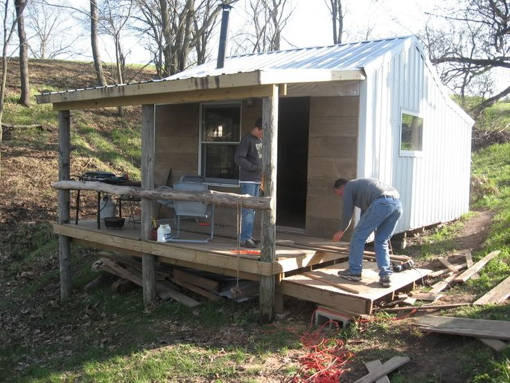 17 best images about deer camp on pinterest the loft for Hunting camp building plans