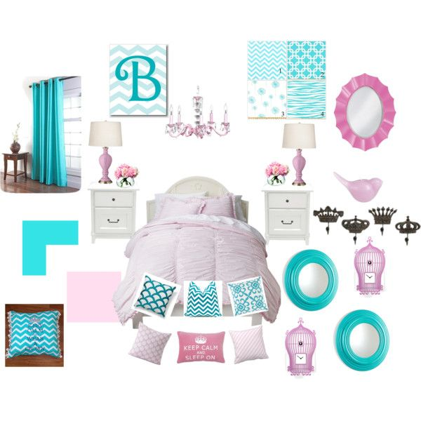 """Girls Bedroom"" by deliaberry on Polyvore"