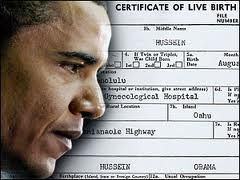 "Not that we are surprised, but now there are multiple copies of Barack Hussein Obama's ""real"" birth certificate surfacing and are clearly indicating fraud."