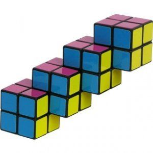 2x2x2x2 Cube Puzzle Like Rubiks Cube