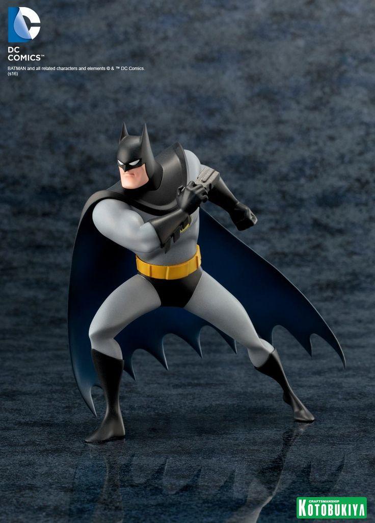 Batman da série animada ganha figura de luxo pela Kotobukiya