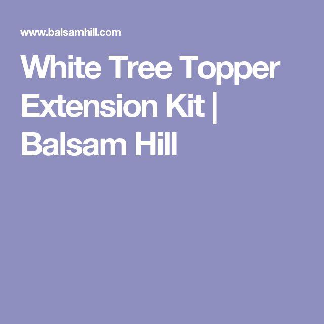 White Tree Topper Extension Kit | Balsam Hill