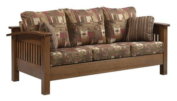 Amish Liberty Mission Sofa Mission Style Furniture Amish